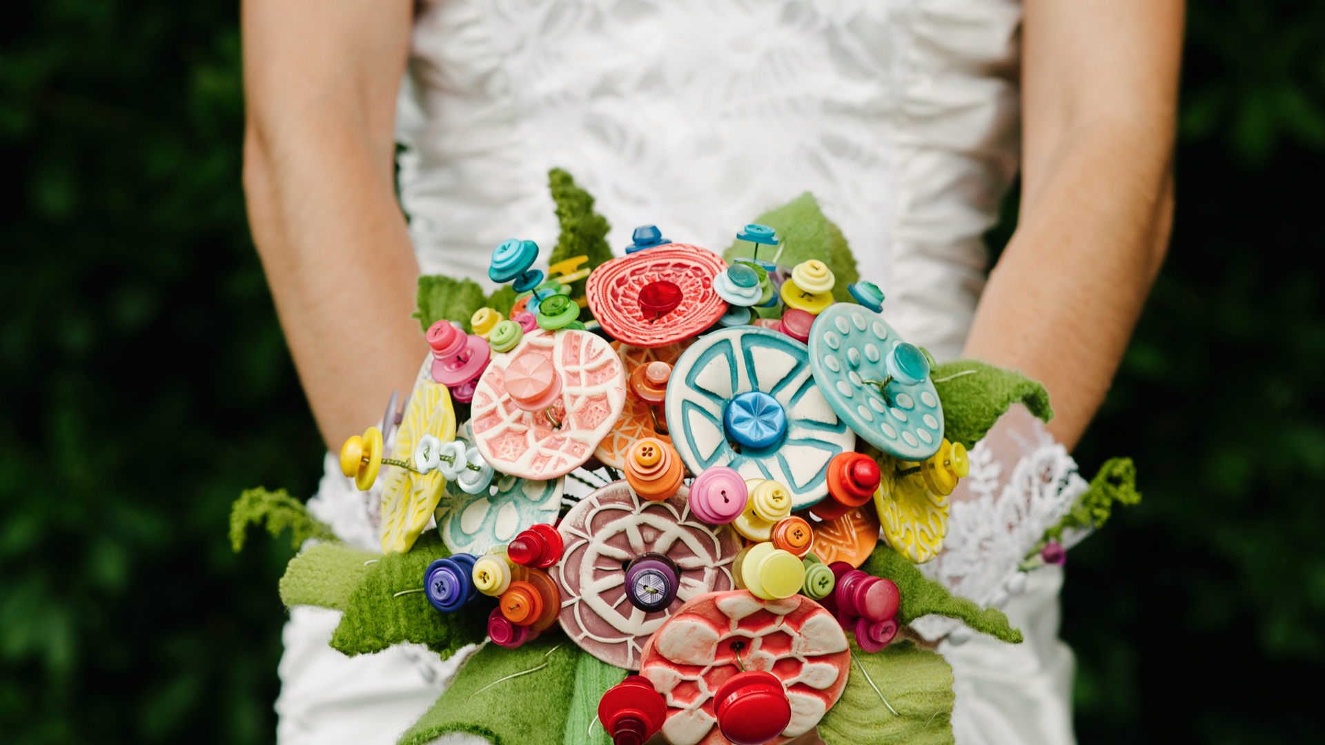 Handmade Button Flowers For Every Occasion