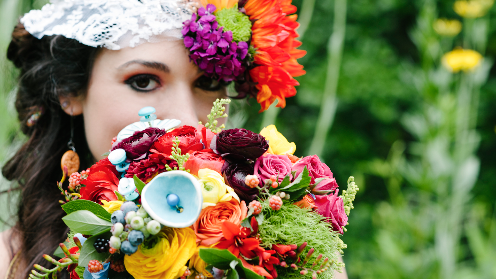 The Button Florist | Button Flowers and Accessories
